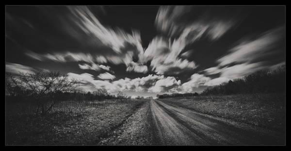 Dirt Roads Photograph - Backroad by Robert Fawcett
