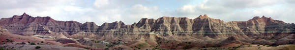 Photograph - Badlands Of South Dakota by Rich Stedman