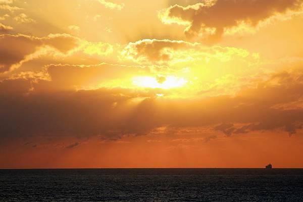 Bahamas Sunset Art Print