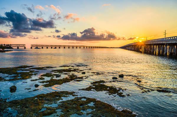 Photograph - Bahia Honda Sunset by David Hart