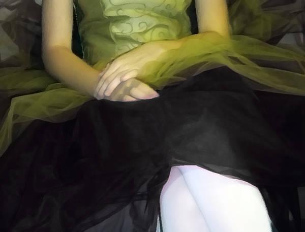 Photograph - Ballerina Lap 2 by Angelina Tamez