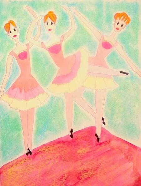 Wall Art - Painting - Ballet by Brittany Shelton