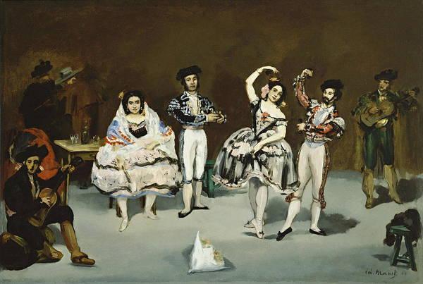Latina Painting - Ballet Espagnol by Edouard Manet