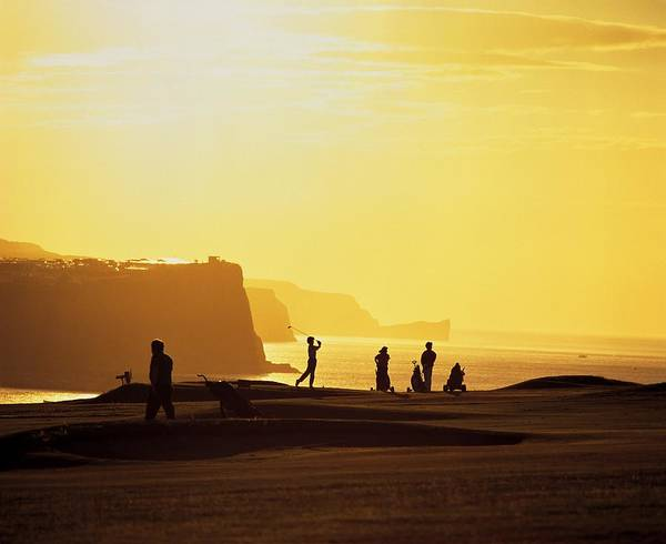 Horizontally Photograph - Ballycastle Golf Club, Co Antrim by The Irish Image Collection