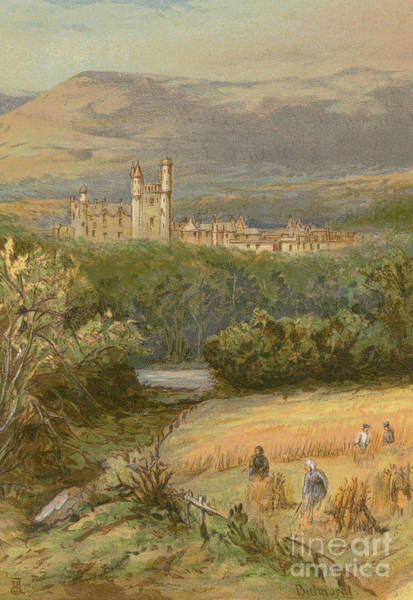 Wall Art - Painting - Balmoral Castle by English School