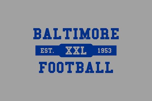 Colt Photograph - Baltimore Colts Retro Shirt by Joe Hamilton