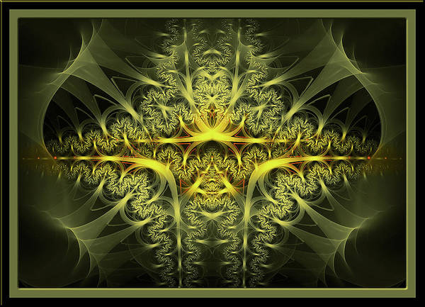 Showpiece Digital Art - Band Of Gold by Andy Young