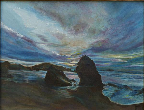 Bandon Beach Art Print