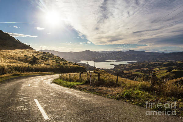 Photograph - Banks Peninsula In New Zealand South Island by Didier Marti