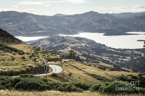 Photograph - Banks Peninsula Near Chirstchurch In New Zealand by Didier Marti