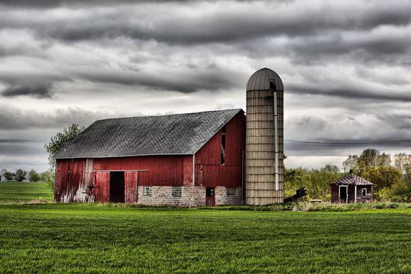 Photograph - Barn 6 by CA  Johnson