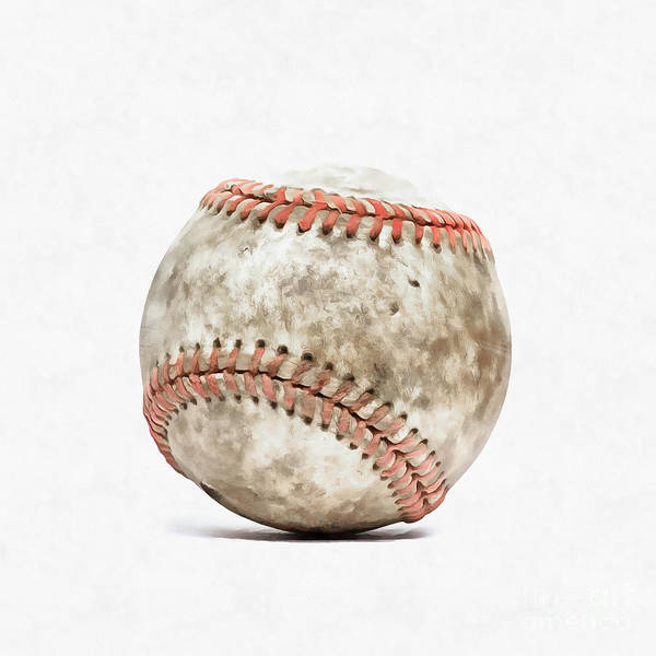 Photograph - Baseball by Edward Fielding