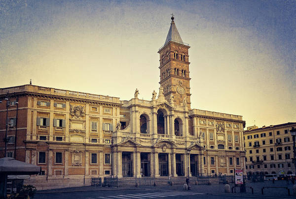 Photograph - Basilica Of Santa Maria Maggiore Rome by Joan Carroll