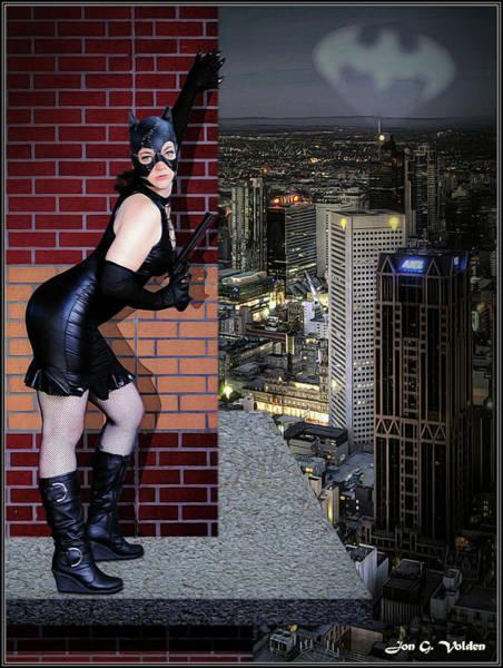 Photograph - Bat Signal by Jon Volden