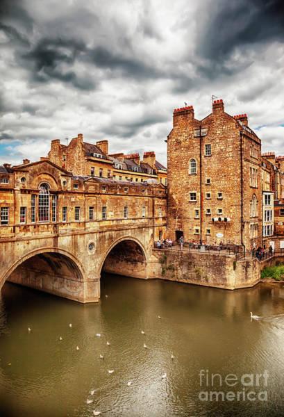 Photograph - Bath Historical Bridge  by Ariadna De Raadt