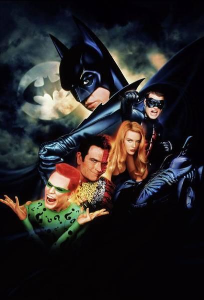 Wall Art - Digital Art - Batman Forever 1995  by Geek N Rock