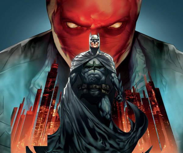 Wall Art - Digital Art - Batman Under The Red Hood 2010 by Geek N Rock
