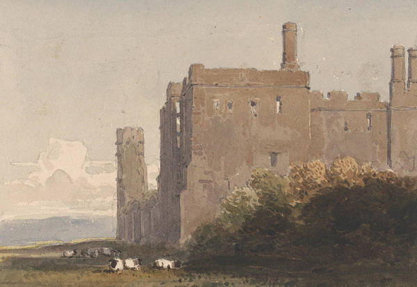 Painting - Battle Abbey, Sussex by David Cox