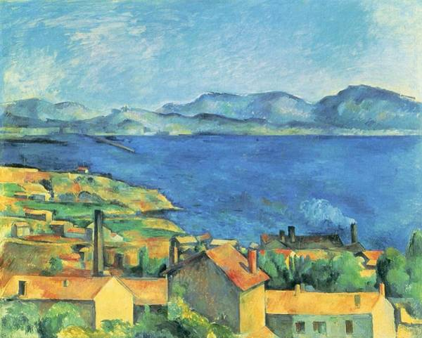 Painting - Bay Of Marseille  by Paul Cezanne