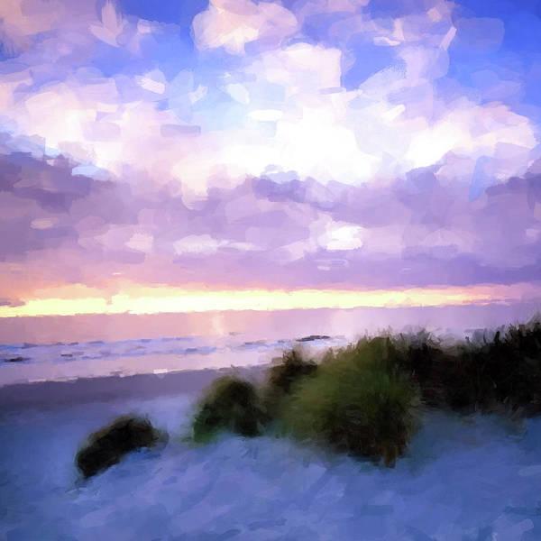 Sawgrass Digital Art - Beach Sawgrass by Gary Grayson