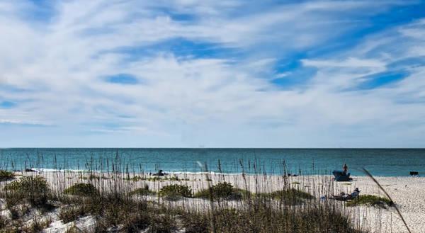 Boca Grande Photograph - Beach Scene - Boca Grande Florida by Jon Berghoff