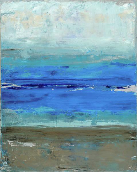 Wall Art - Painting - Beach by Tanya Lozano Abstract Expressionism