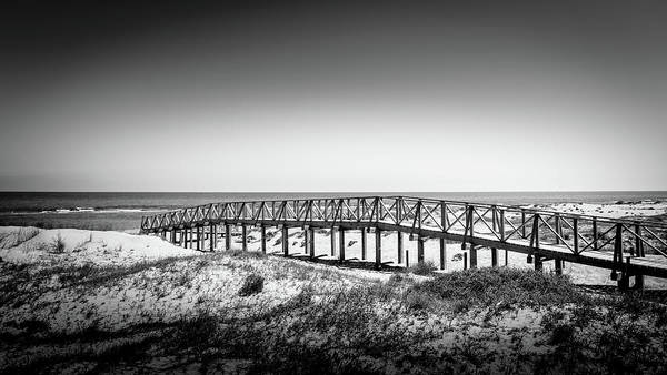 Photograph - Beach Walkway by Gary Gillette