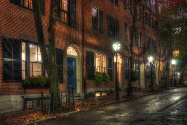 Photograph - Beacon Hill Sidewalks by Joann Vitali