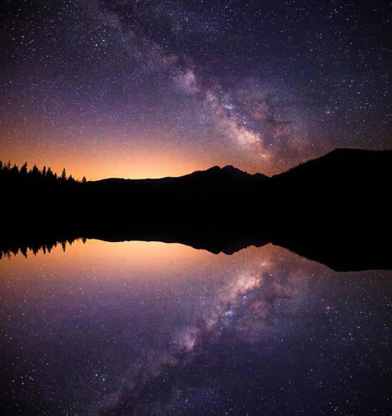 Photograph - Bear Lake Milky Way by Darren  White