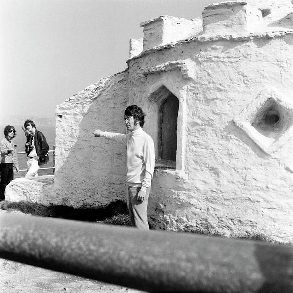 Photograph - Beatles John Lennon Magical Mystery - Square by Chris Walter
