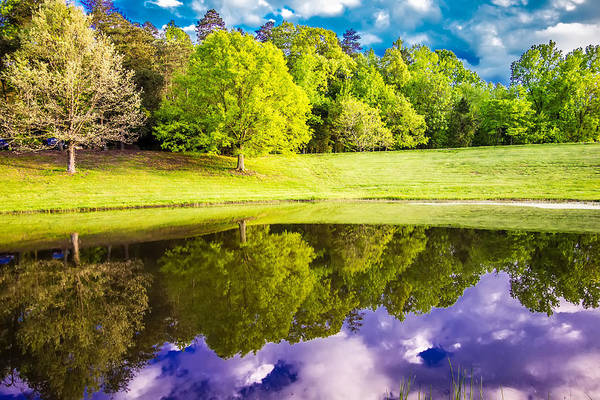 Photograph - Beautiful Landscape And Reflections In Water by Alex Grichenko