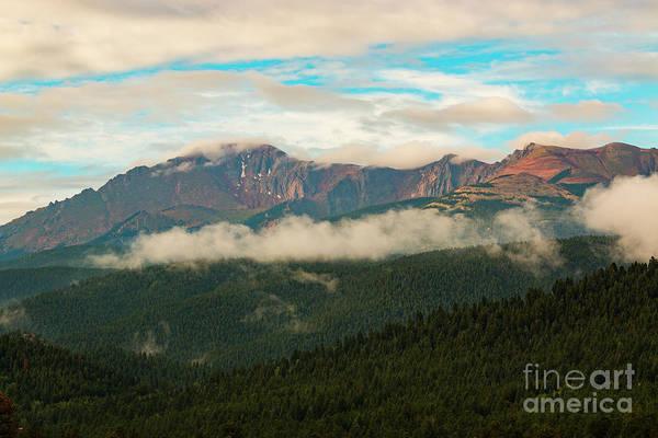 Photograph - Beautiful Sunrise On Pikes Peak Colorado by Steve Krull