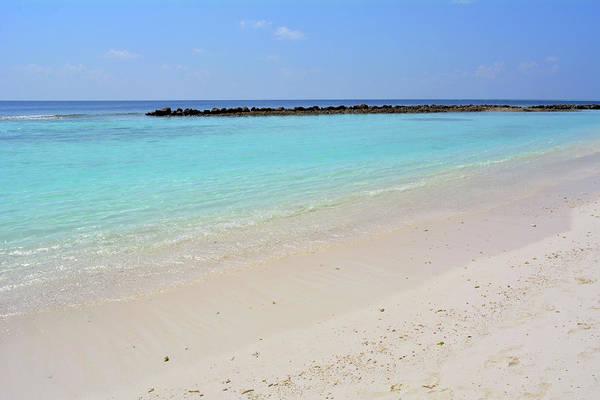Photograph - Beautiful Turquoise Water In Maldives by Oana Unciuleanu