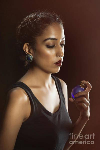 Perfume Photograph - Beauty Portrait by Amanda Elwell