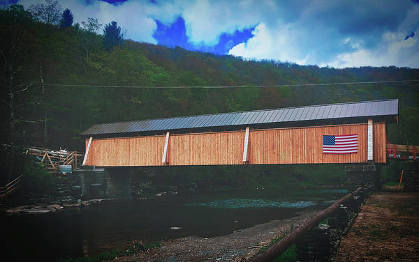 Catskills Photograph - Beaverkill Covered Bridge by Pixabay