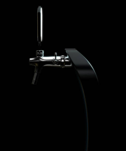 Draught Digital Art - Beer Tap by Allan Swart