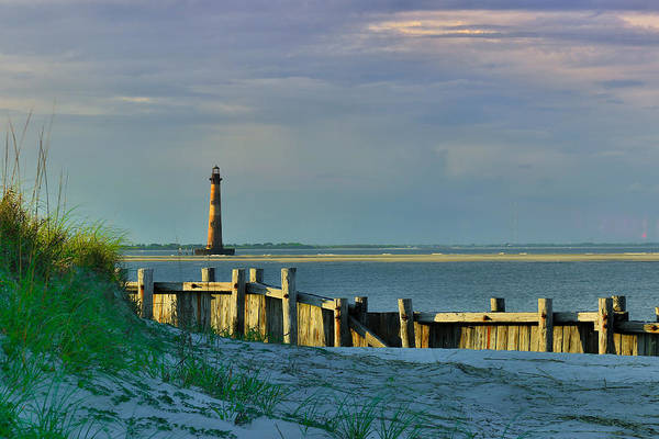 Photograph - Behind The Wall - Folly Beach Sc by Donnie Whitaker