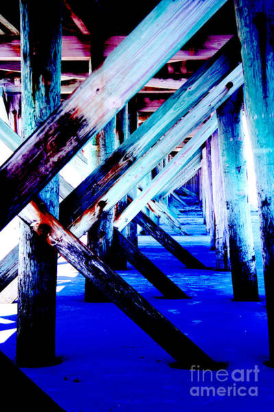 Wall Art - Photograph - Beneath The Docks by Jamie Lynn