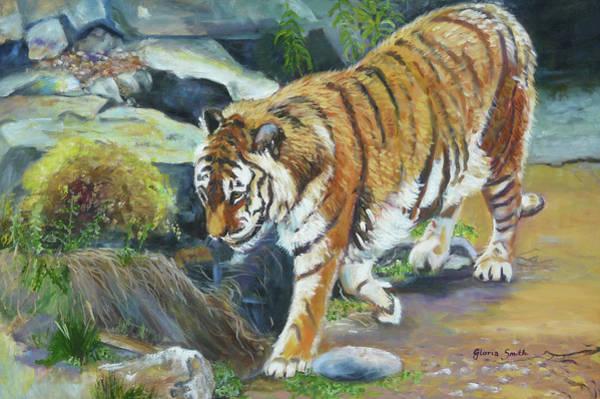 Bengal Tiger Art Print by Gloria Smith