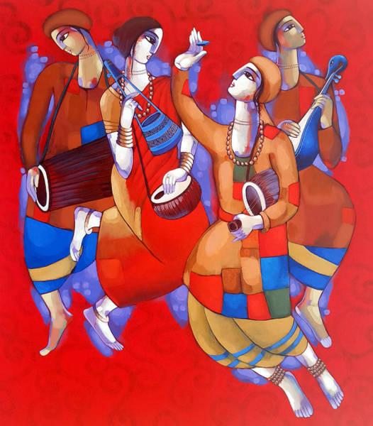 Painting - Bengali Tune by Sekhar Roy