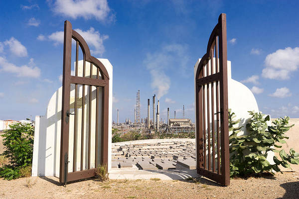 Photograph - Beth Haim Cemetery Curacao by For Ninety One Days