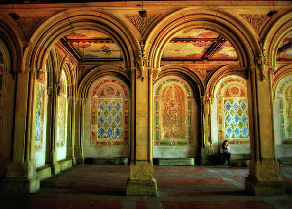 Photograph - Bethesda Terrace Arcade by Jessica Jenney