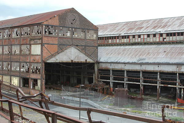 Photograph - Bethlehem Steel  by Ken Keener