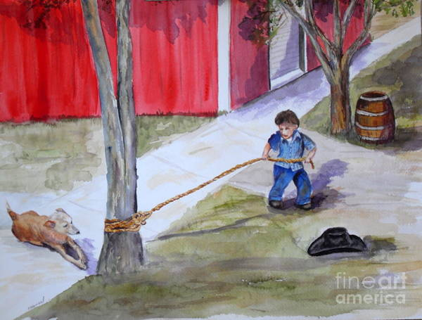 Clovis Painting - Better The Tree Than Me by Vicki  Housel