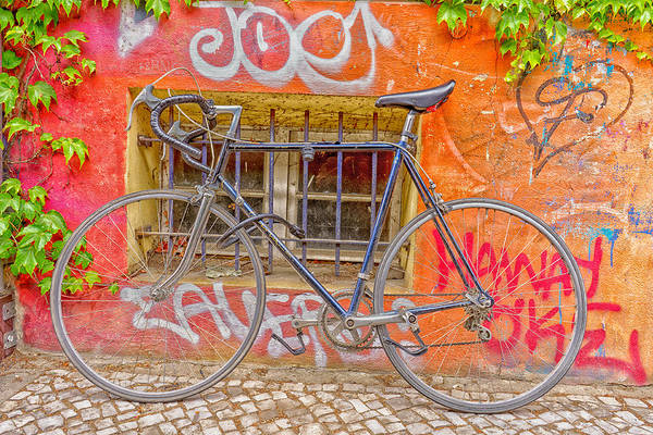Photograph - Bicycles by Uri Baruch