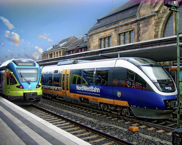 Photograph - Bielefeld Train Station by Anthony Dezenzio