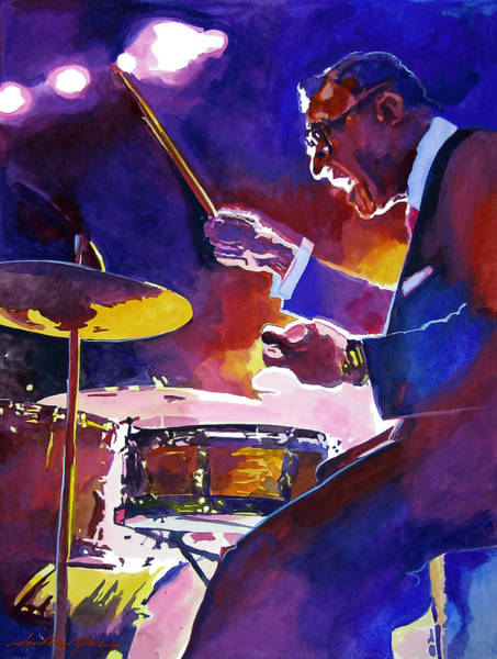 Painting - Big Band Ray by David Lloyd Glover