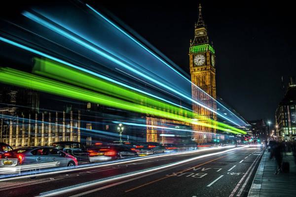 Bankside Photograph - Big Ben  by David Leigh-Jackson