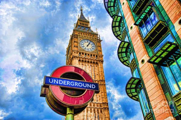Wall Art - Photograph - Big Ben London by Donald Davis