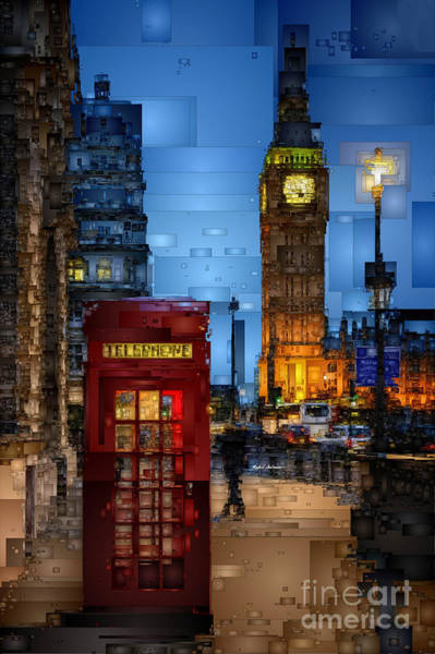 Digital Art - Big Ben London by Rafael Salazar